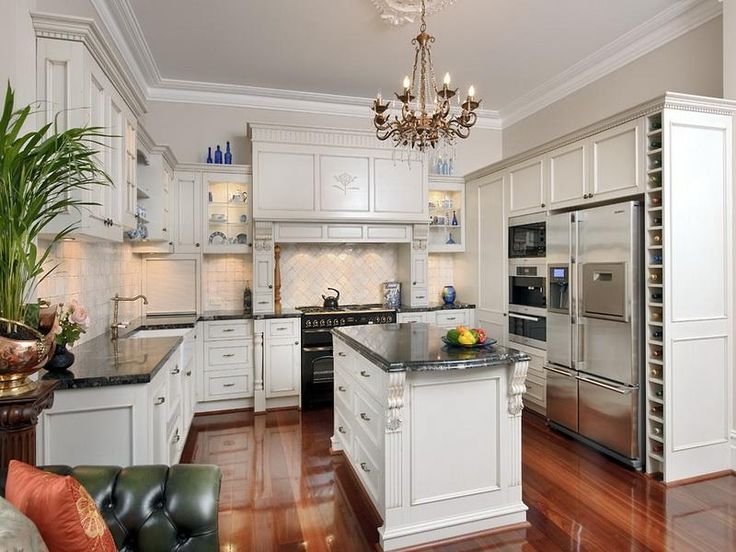 20 White Kitchen Ideas That Will Work Extremely Well  Kitchen  Country kitchen designs French