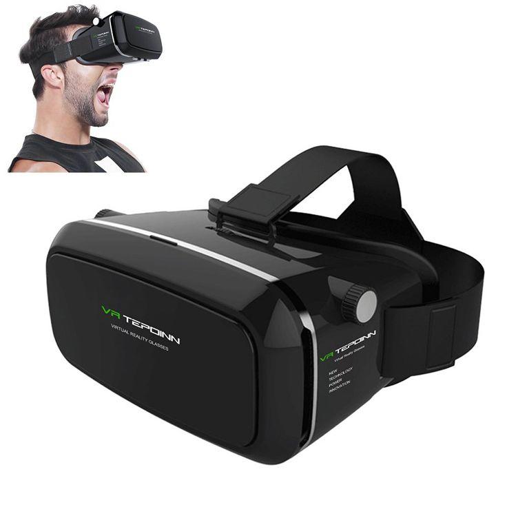 Tepoinn Google Cardboard 3D VR Brille im Test  #3D Brille #Google Cardboard #Tepoinn #Test #Unterhaltungselektronik #VR Brille