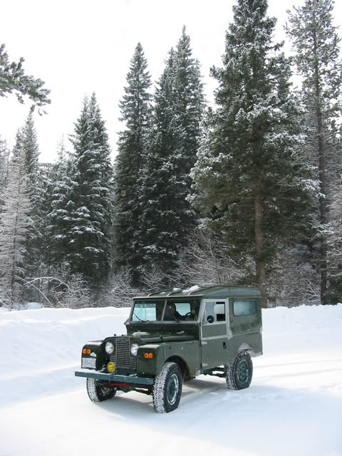 // Land Rover Series I