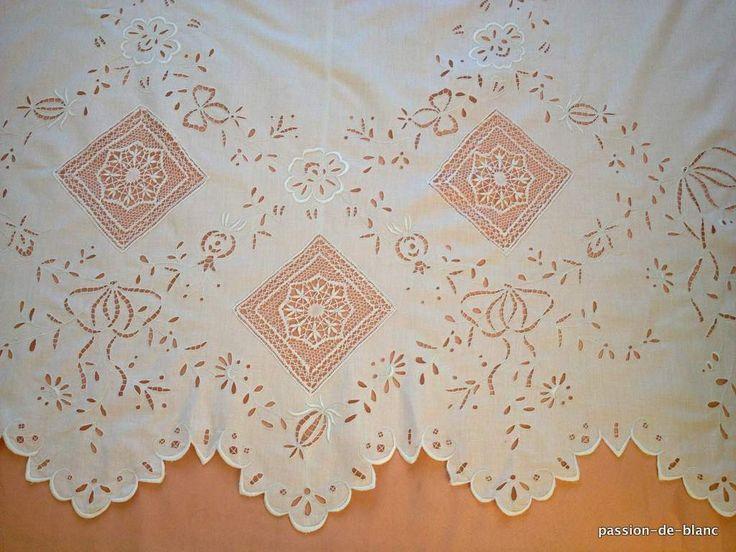 17 meilleures id es propos de rideaux de dentelle sur pinterest rideaux v - Rideaux anciens dentelle ...