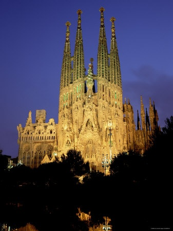 Barcelona, Sagrada Familia - Holy... Family!
