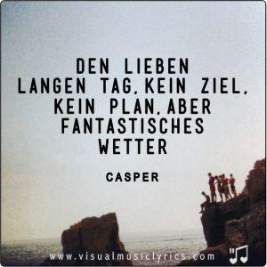CASPER - GANZ SCHÖN OKAY - VISUAL SONG LYRICS -
