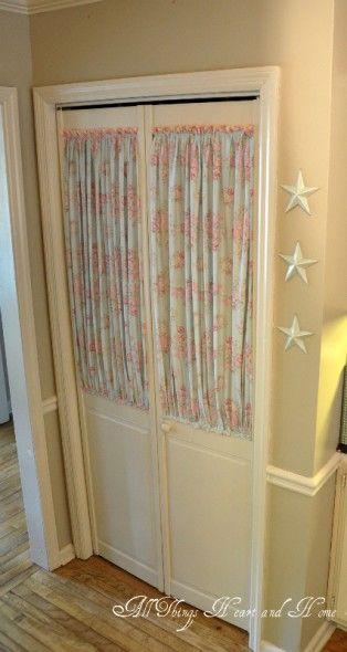 Beautifully Update Your Pantry Doors ~Tutorial~