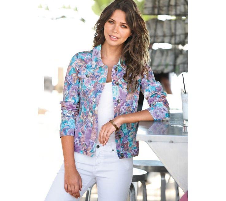 Sako s potlačou a gombíkmi | modino.sk #ModinoSK #modino_sk #modino_style #style #fashion #bestseller #jacket