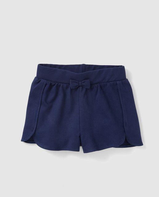 764e08762 Short de niña Freestyle en azul marino con lazo | favoritos | Ropa ...