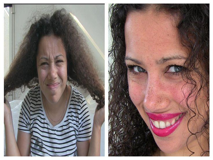 1 x in de week gebruik ik een natuurlijk haarmasker voor krullend haar. Na het behandelen voelt mijn haar weer zacht en verzorgd aan.