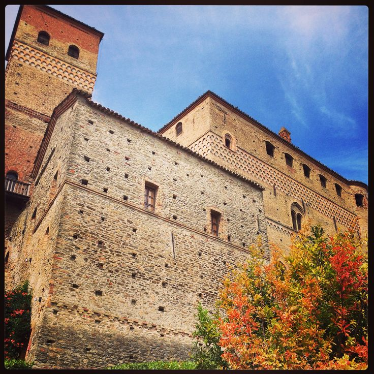 Langhe Castle Piemonte Italy