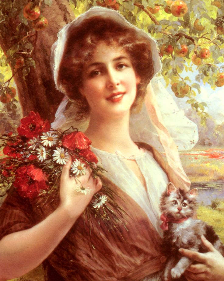 """Emile Vernon  Country Summer Oil on canvas  50 x 40 cm (19½"""" x 15½"""") Private collection"""
