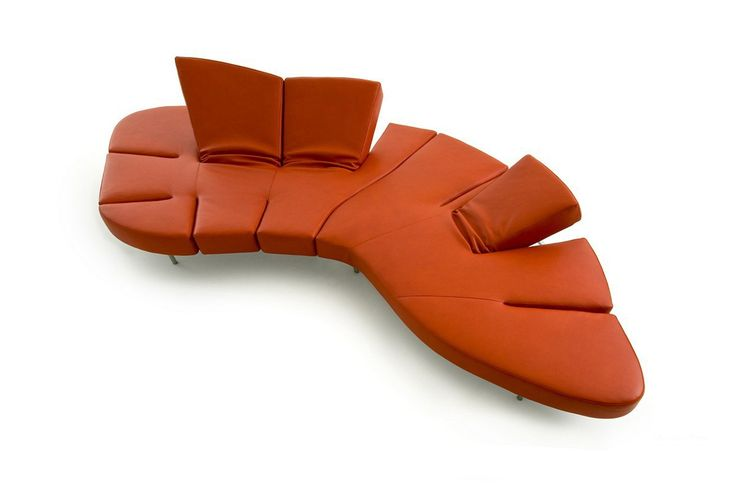 Original and unusual couch-transformer Flap by Edra S.p.A., Italy. Can be in different colours. Оригинальный и необычный диван-трансформер Flap от итальянского производителя Edra S.p.A. Может быть в разных цветовых решениях. #designinterior #interior #decor #mebelmr #couch