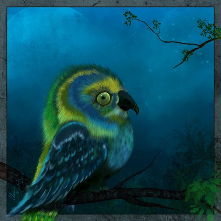 Digital painting created in krita by c nichols krita
