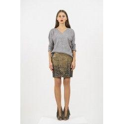 Sequins ombre skirt #ombre #sequins