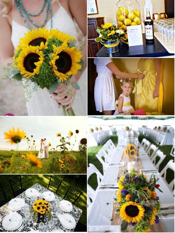 17 Best images about Sunflower Wedding Ideas on Pinterest ...