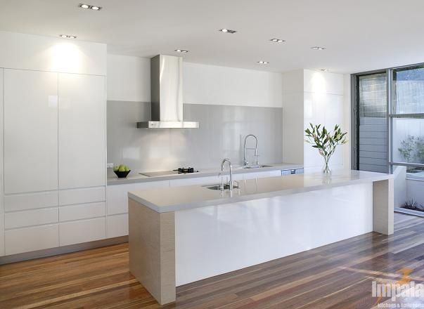 Stone Benchtop and contrasting sides