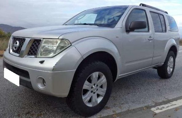 2007 Nissan Pathfinder 2.5 dCi diesel manual 7 seater 4×4
