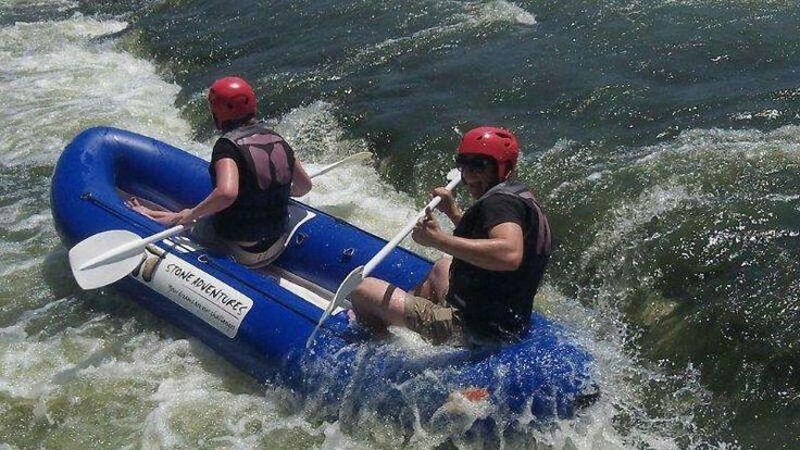 River rafting in Parys