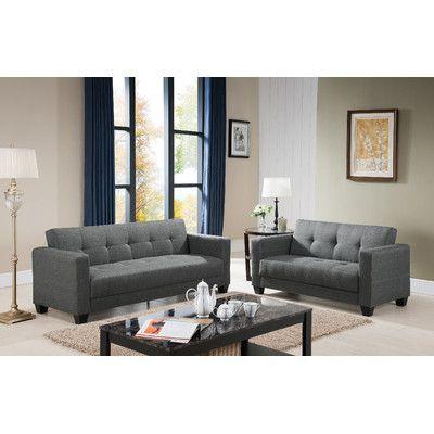 Sofa and Loveseat Set | Wayfair