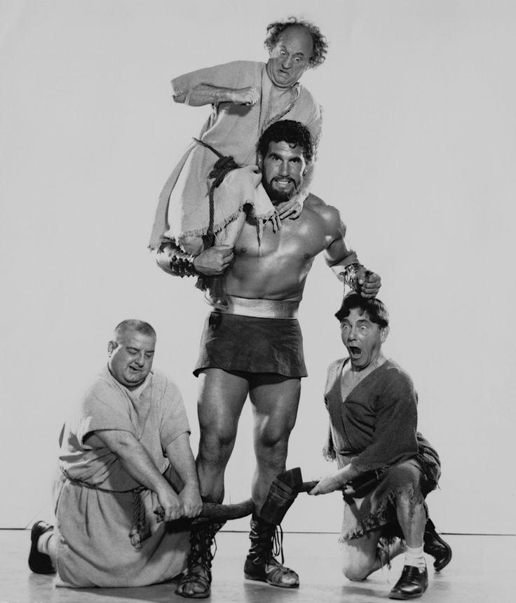 The Three Stooges Meet Hercules (1962)  Larry Fine, Moe Howard, Joe DeRita & Samson Burke