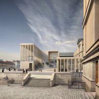 Grundsteinlegung in Berlin / Chipperfields James-Simon-Galerie - Architektur und Architekten - News / Meldungen / Nachrichten - BauNetz.de