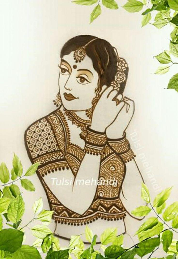 Mehindhi sketch