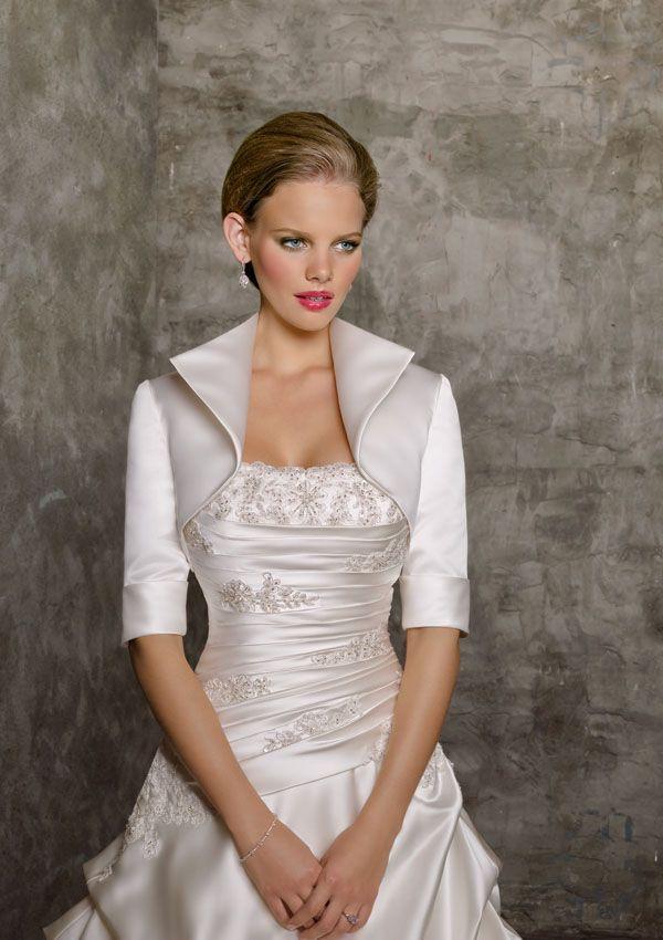 115 best Wedding Dress Jackets / Wraps images on Pinterest | Bridal ...