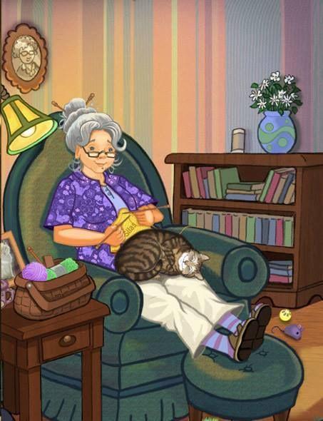 Tejiendo con gato ~ by Matthew Gauvin