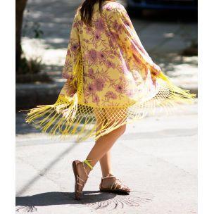 Singapore Lemon Kimono