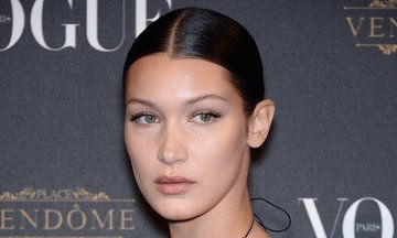Bella Hadid Embraces The Nipple Piercing And Sheer Dress Look