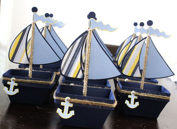 Great idea for Nautical Favor boxes