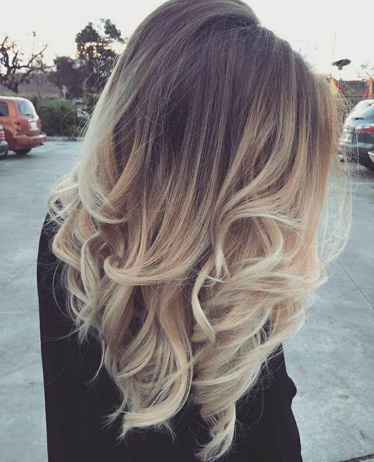 besten 25 ombre blond braun ideen auf pinterest braun