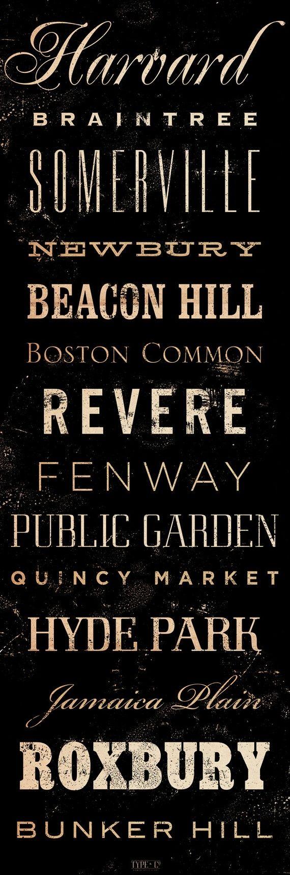 Change into major battles for the classroom: Boston Love, Canvas Typography, Boston Massachusetts, Boston Neighborhoods, Neighborhoods Canvas, Boston 3, Graphic Art, Boston Home Diy