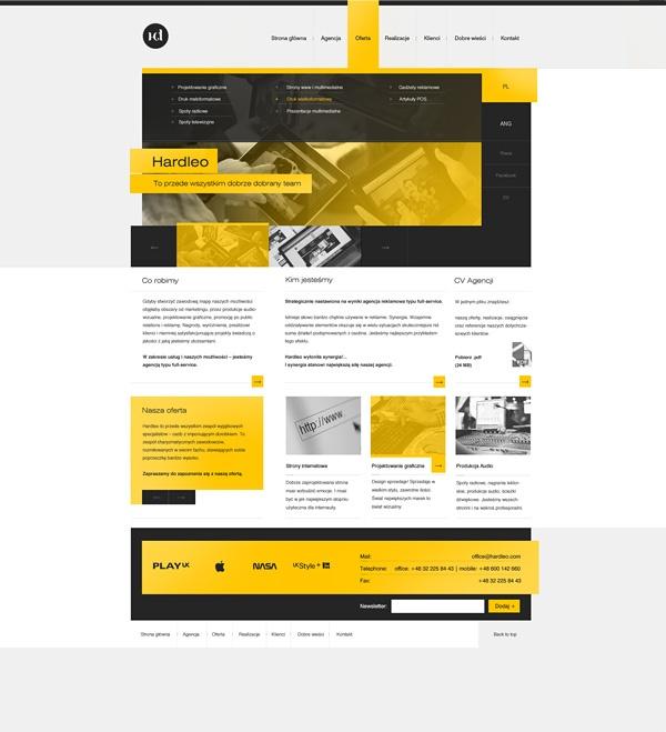 Hardleo - Web design