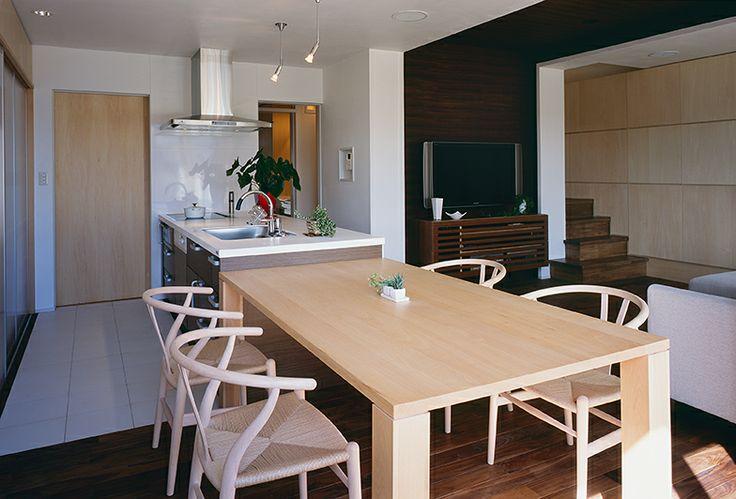 茨城和風×モダン改修住宅【Modern Ibaraki-style house】  #igawa_arch #architecture n#house #dining