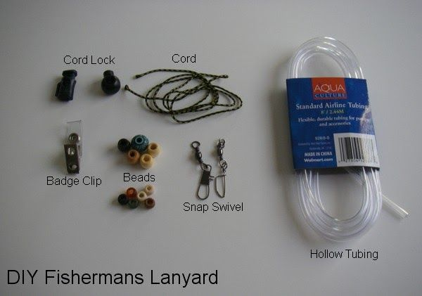 Ideas for creating your own DIY Fly fishing lanyard