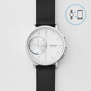 Hagen Connected Leather Hybrid Smartwatch | SKAGEN® | Free Shipping