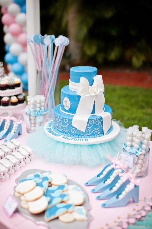 Princess Cinderella Themed 1st Birthday Party