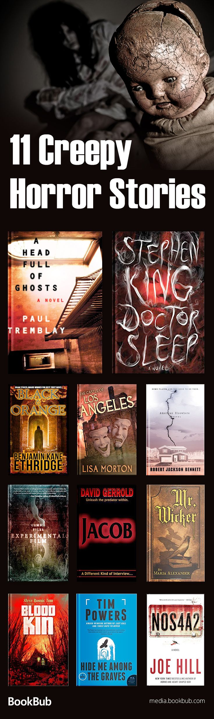11 creepy horror stories and books to read for Halloween. These scary stories for adults include award-winning fiction.