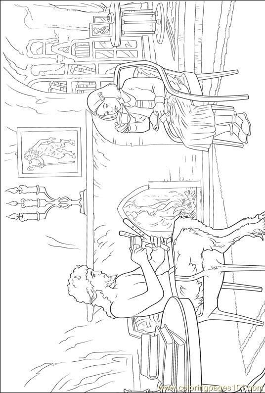 Narnia 001 Coloring Page For Kids And Adults From Cartoons Pages Others