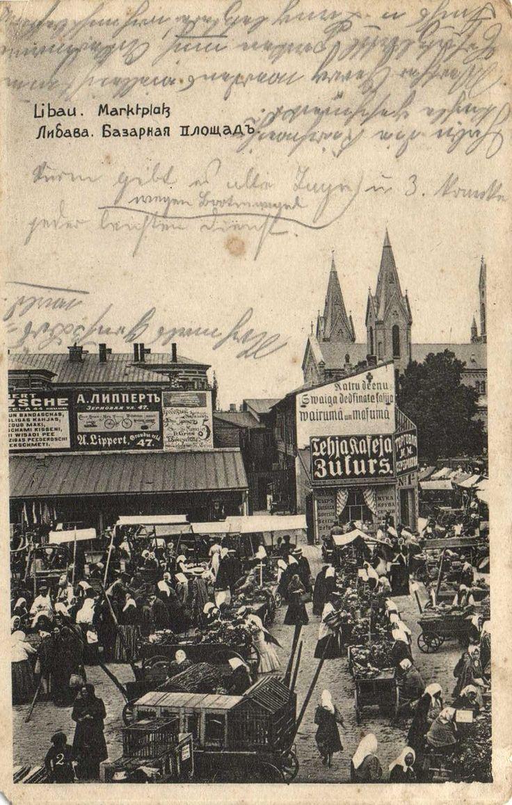 Libau , Latvia - Market