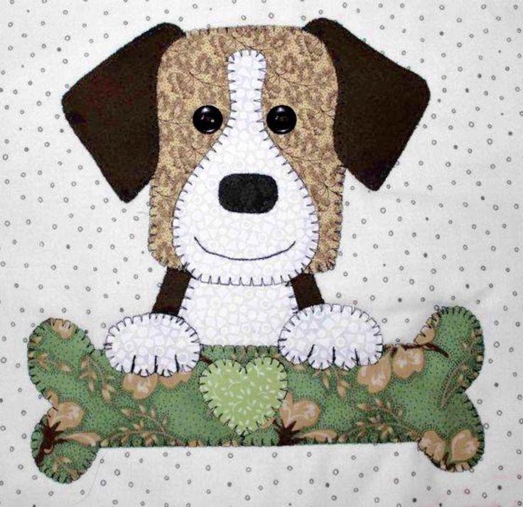 картинки с аппликациями собак ремонт стиральных