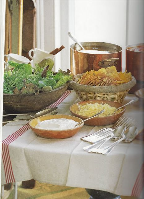 1000 Images About Food Table Setting On Pinterest