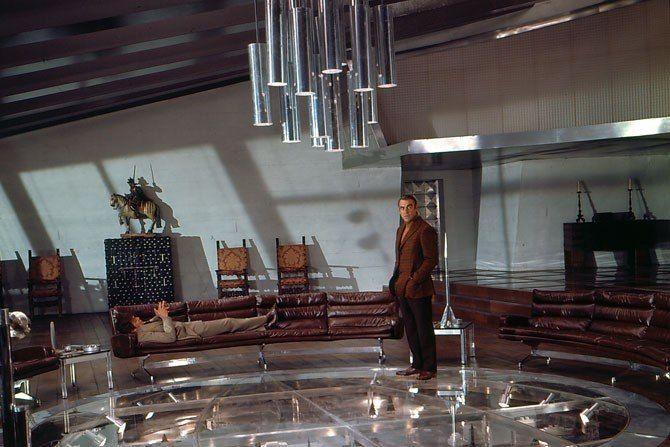 James Bond's Best Movie Sets : Architectural Digest