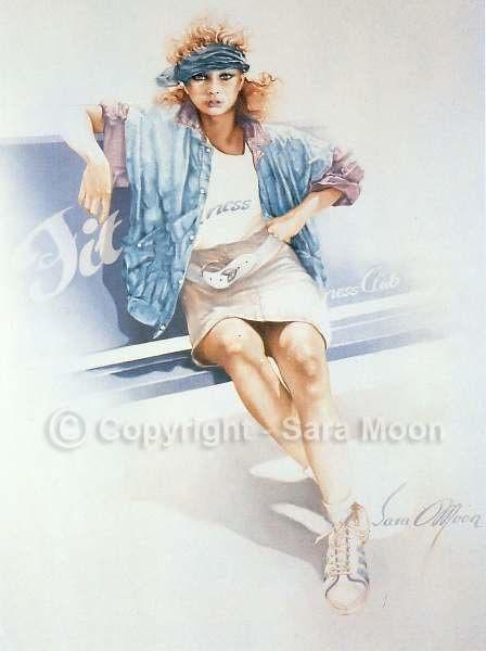 In 1990 calender.  Sara Moon
