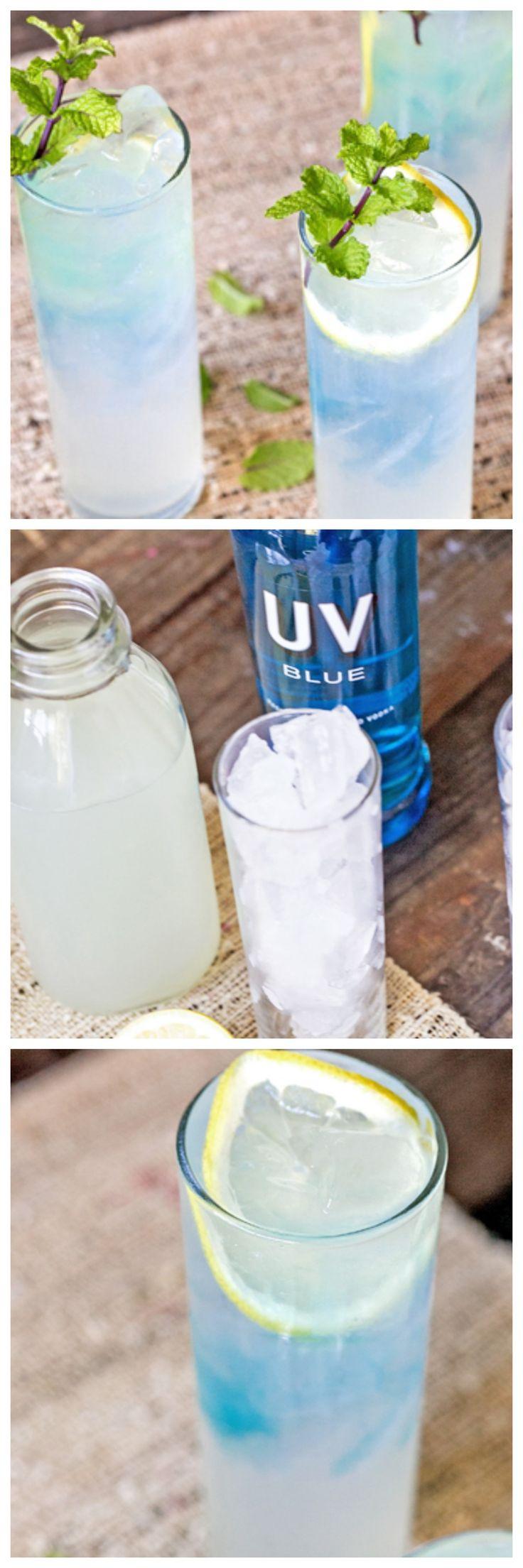Blue Vodka Lemonade