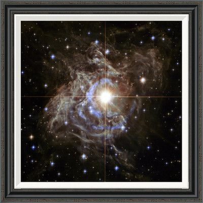 "Global Gallery 'Cepheid Variable Star' by NASA Framed Grapic Art Size: 30"" H x 30"" W"