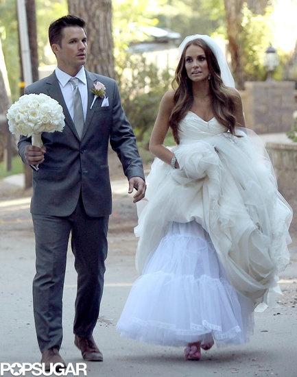 Exclusive! Matt Lanter and Angela Stacy's wedding pictures!