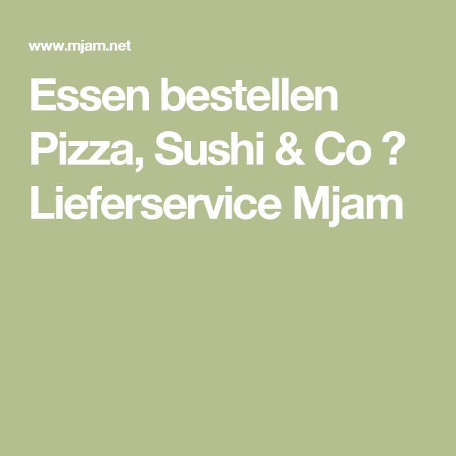 Essen bestellen Pizza, Sushi & Co ➨ Lieferservice Mjam