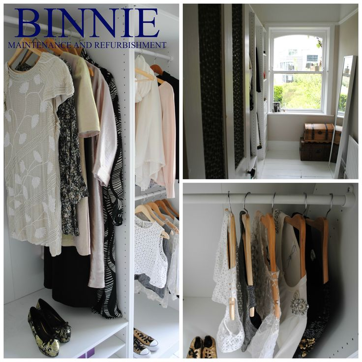 Walk in wardrobe overview. Maximise your space and display your clothing in style.