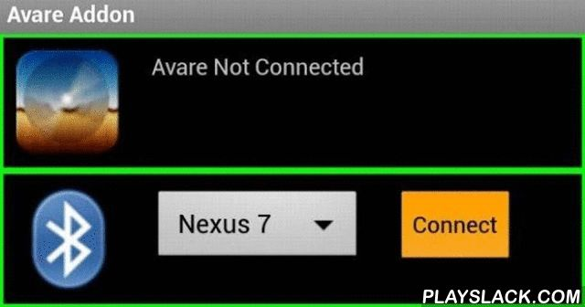 Avare External I/O Plugin  Android App - playslack.com ,  This is the free AddOn app for our free Avare aviation GPS & EFB app. This app currently provides additional free connectivity to Avare, including NMEA compatibility for using external dedicated ADS-B and GPS receivers in Avare via a Bluetooth or WiFi connection, NMEA output to drive autopilots, and connection with XPlane or Flightgear flight simulators. Actual functions based on this extended connectivity are being added and…