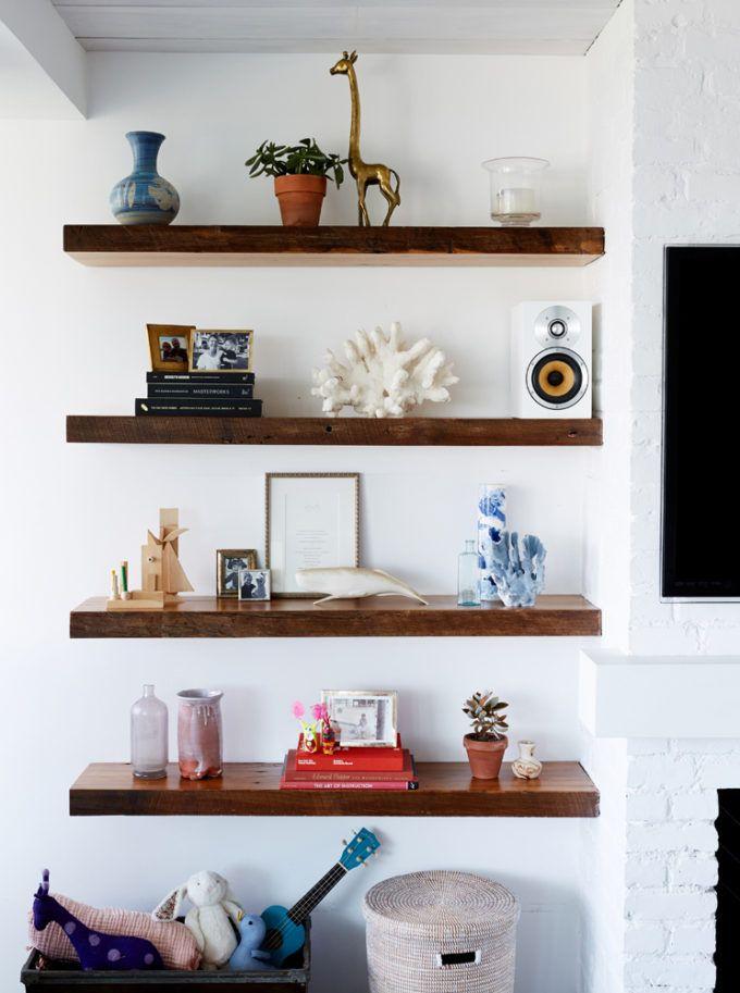 Delighful Office Floating Shelves 25 Bookshelves Ideas On Pinterest Bookshelf Living Room Low Inside Design
