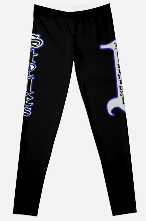 Thought I'd give a go at the leggings on here. I decided to make a remake of AJ Styles' tights from his WWE debut at the 2016 Royal Rumble. / Show off your phenomenal style with this black, blue and white design and let your haters know that 'they don't want none' • Also buy this artwork on apparel.